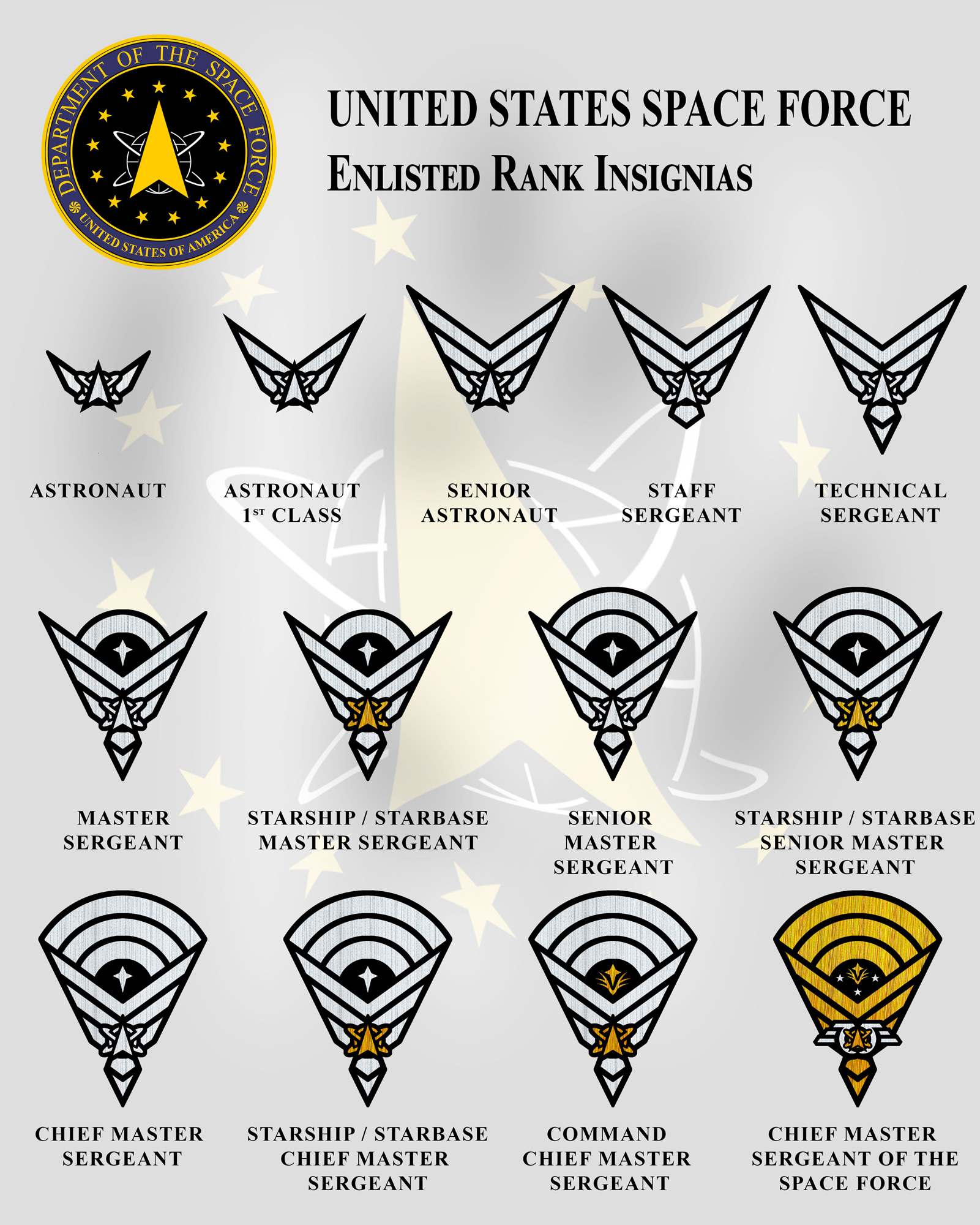 Just Some Rank Insignia Stellar Reaches